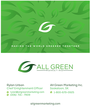 Business Card With Website For Farmer's Market